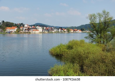 Edersee at Herzhausen with full filling