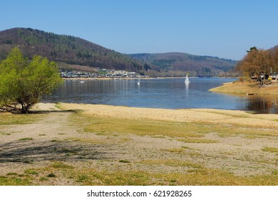 Edersee at the Rehbach