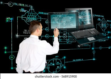 E-designing computer engineering technology.Working Engineer