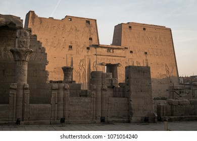 Edfu temple. Egypt.