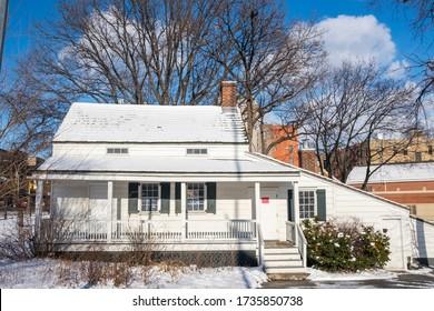 EdgarAllan Poe's cottage in New York