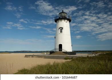 Edgartown Lighthouse,  Martha�´s Vineyard, New England, Massachusetts, USA, Leuchtturm Edgartown, Marthas Vineyard, Neu England