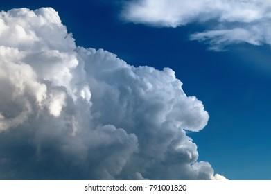 Edge of Cumulonimbus Thunderhead Cloud