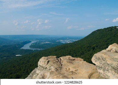 The edge of Sunset Rock in Chattanooga, taken in August of 2018.