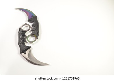 edged weapon knife karambit