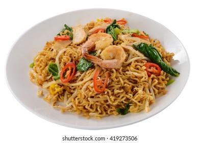 Edge-out Food ( Shrimp Noodles )