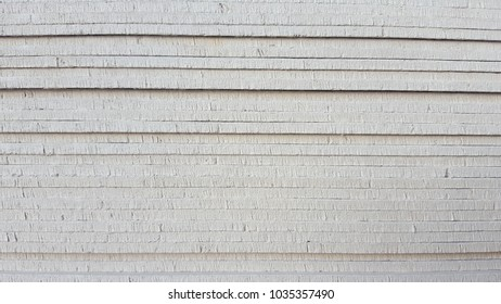 The edges of the stacked smartboard.