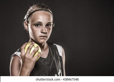 Edgy Softball Girl