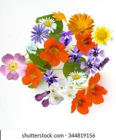 edible; blossom; eat; flower