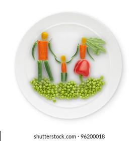 edible figure lying on a plate