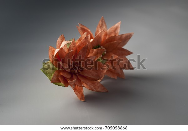 Edible Wafer Paper Flowers Stock Photo Edit Now 705058666