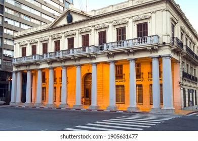 Edificio José Artigas, Former National Government office, Edificio Montevideo, Plaza Independencia, Uruguay, South Americ