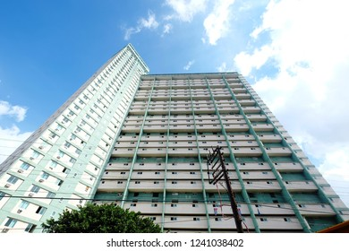 Edificio FOCSA building in Havana, Cuba. The FOCSA building is 123m tall and is among the five tallest buildings in Cuba, january 2017