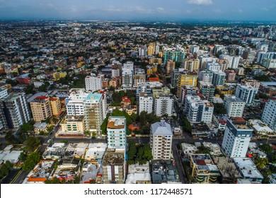sobre la ciudad de Santo Tomingo en la República Dominicana