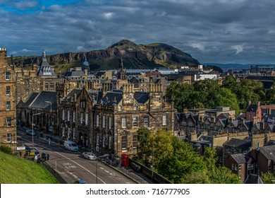 Edinburg city view