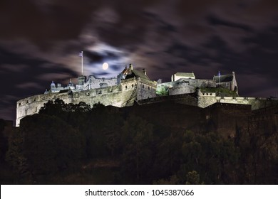 Edinburgh castle is a famous Historic Scotland attraction venue and popular tourists destination located in the heart of the Scottish capital city.