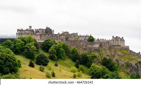 Edinburgh Castle on the Castle rock, Scotland