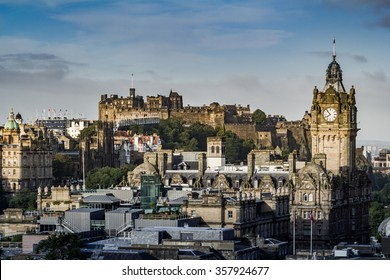 Edinburgh  Cityscape  , Scotland UK