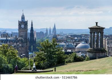 Edinburgh Panorama from Calton Hill