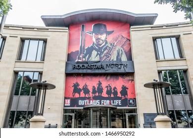 Edinburgh / Scotland - 07/31/2019 - Rockstar North headquarters