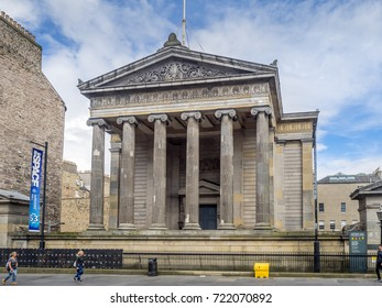 EDINBURGH, SCOTLAND - JULY 30:Surgeon's Hall Museum in the Old Town on July 30 2017 in Edinburgh, Scotland. Initially established as a medical teaching resource, all are now welcome to visit.
