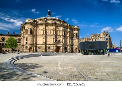 EDINBURGH, SCOTLAND - MAY 19: McEwan Hall, The University of Edinburgh on May 18, 2019 in Edinburgh