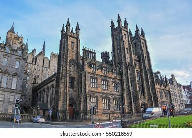 Edinburgh, Scotland, May, 5, 2011, The University of Edinburgh in Edinburgh city, Scotland.