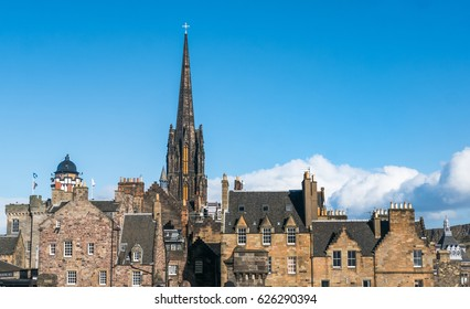 Edinburgh skyline, the capital of Scotland and its  second most populous city.