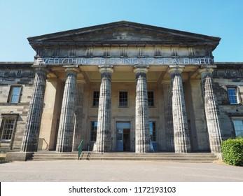 EDINBURGH, UK - CIRCA JUNE 2018: The Scottish National Gallery of Modern Art in Dean Village
