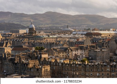 Edinburgh University Old College and the Pentlands, Skyline Scotland