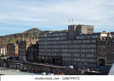 Edinburgh/Scotland - June 25 2018 : Jurys Inn Hotel Edinburgh