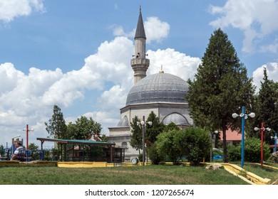 EDIRNE, TURKEY - MAY 26, 2018: Ayshe Kadın Cami Mosque in city of Edirne,  East Thrace, Turkey