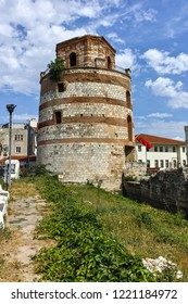 EDIRNE, TURKEY - MAY 26, 2018: Tower of Macedonia in the center of city of Edirne,  East Thrace, Turkey
