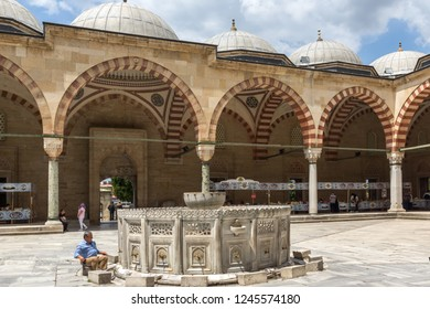 EDIRNE, TURKEY - MAY 26, 2018: Built between 1569 and 1575 Selimiye Mosque  in city of Edirne,  East Thrace, Turkey