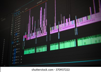 Editing time line