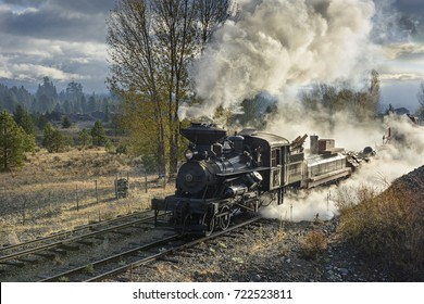 EDITORIAL, 18 October 2015, Historic Steam Trains and Heritage Railroad of the Sumpter Valley Railway or Railroad, Sumpter Oregon