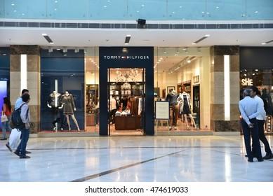 6676c760 Editorial: AUG 28th, 2016: Gurgaon, Delhi, India: Tommy Hilfiger Retail