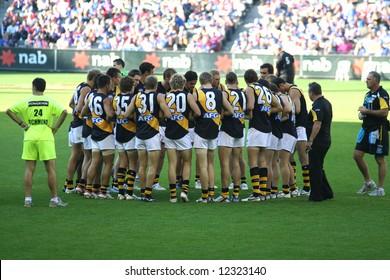 Editorial, Australian rules football Richmond tigers players