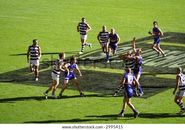 Editorial, Australian rules football team, Geelong and Bulldogs