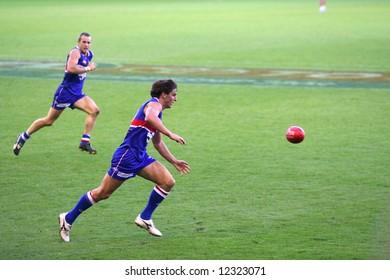 Editorial, Australian rules football Western bulldogs players