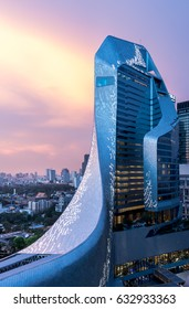 Editorial: Central Embassy Bangkok City, Thailand, 4th May 2017. Central Embassy is a popular shopping mall and travel centre in Siam Bangkok Thailand.