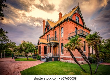 Editorial July 22, 2017: The landmark Rosson House Museum in Downtown Phoenix, Arizona, USA