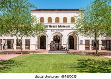 Editorial July 22, 2017:The Heard Museum is a private, not for profit museum located in Phoenix, Arizona, United States, dedicated to the advancement of American Indian art.