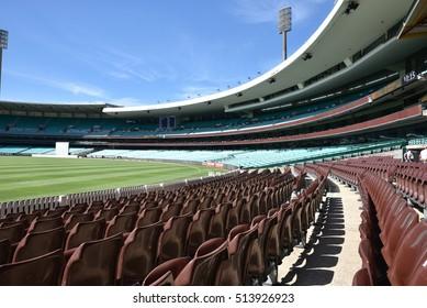 Editorial: NOV 06th, 2016: Sydney, Australia: Famous Sydney Cricket Ground in Sydney, it is a sports stadium in Sydney, Australia. It is used for cricket and Australian rules football