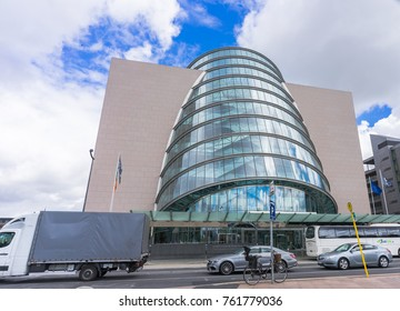 Editorial use only; convention center, Dublin, Ireland, taken on July 27th, 2017.