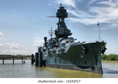 Editorial Use Only: The Famous Dreadnought Battleship Texas