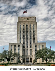 Editorial Use Only: Grand Old Houston City Hall (Release Information: Editorial Use Only. Use of this image in advertising or for promotional purposes is prohibited.)