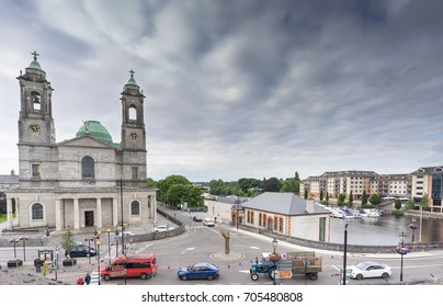 Editorial use only; the historical city of Athlone, Co. Westmeath, Ireland, taken on July 11th, 2017.