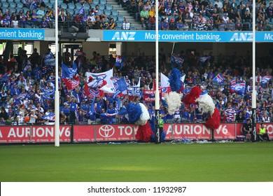 Editorial,Australian rules football Western bulldogs cheer squad