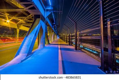 Edmonton, Alberta high level bridge.